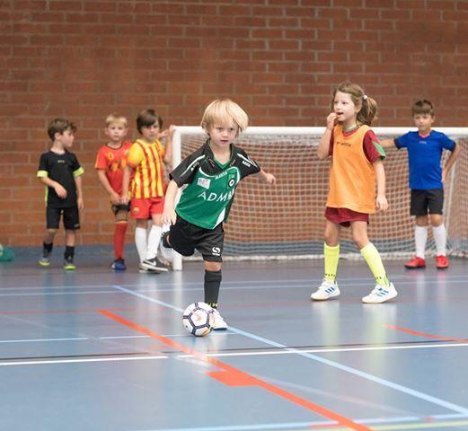 Axa Sport voetbalschool paasstage 2019