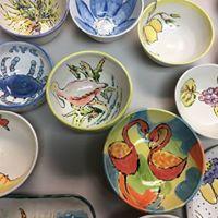 Empty Bowls Naples Public Painting