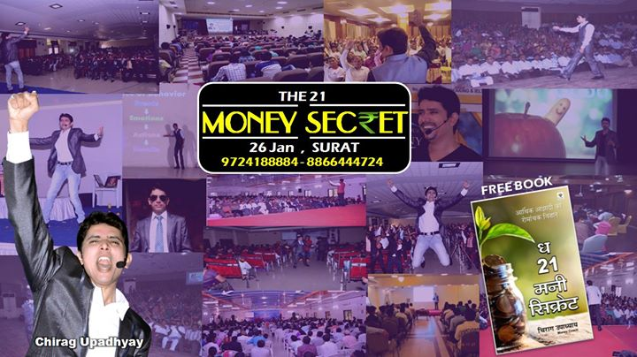 The 21 MONEY Secret - SURAT Live by Chirag Upadhyay