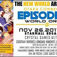 OtaCon Episode III.5 Cosplay Anime Event featuring INAMORATA