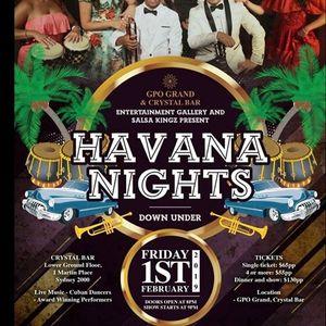 Havana Nights Down Under - Last Tickets on Sale Now