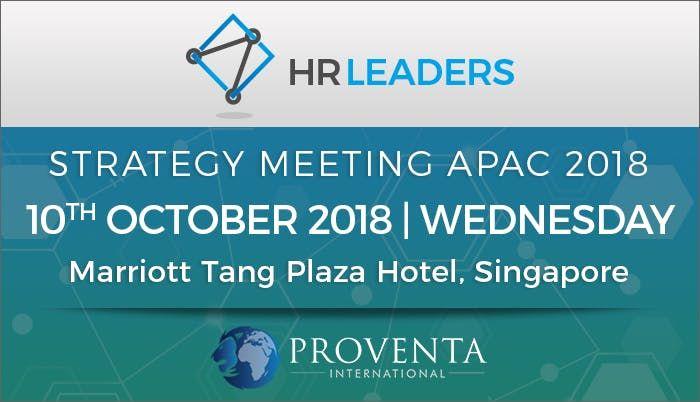 HR Leaders Strategy Meeting APAC 2018