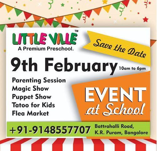 Little Ville Preschool - KR Puram