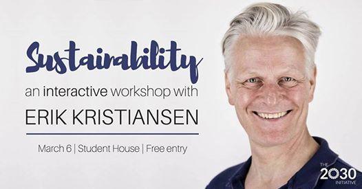 Sustainability an interactive workshop w Erik Kristiansen