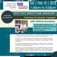 RCLAS Writing Workshop Not-All-About-Me with Patricia Donahue