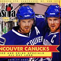 Nashville Predators vs Vancouver Canucks - Predrinks and Meal