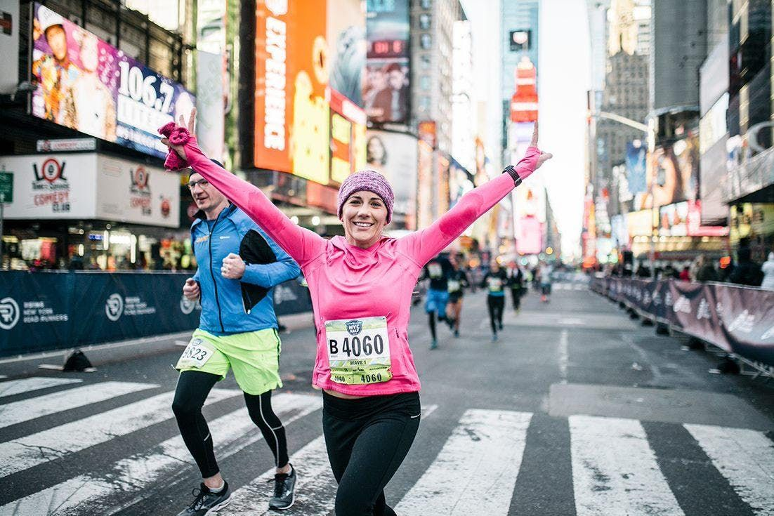 United Airlines NYC Half Virtual 5K Group Run