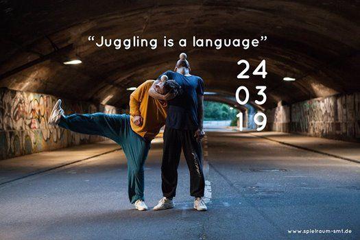 Juggling is a language  Spielraum Impuls 2019Vol.I