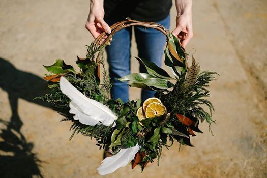 Ancient Rituals Wreath Making w Mountain Floral
