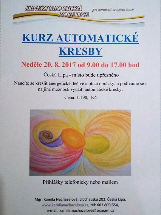 Kurz Automaticke Kresby At Ceska Lipa Czech Republic Ceska Lipa