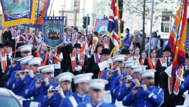 Easter Monday Antrim Parade