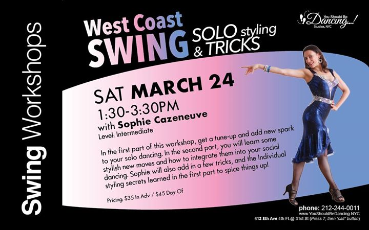 WCS Solo Styling & Tricks with Sophie Cazeneuve