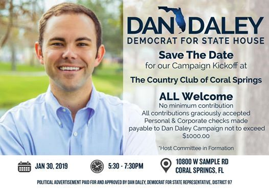 Dan Daley for State House Kickoff
