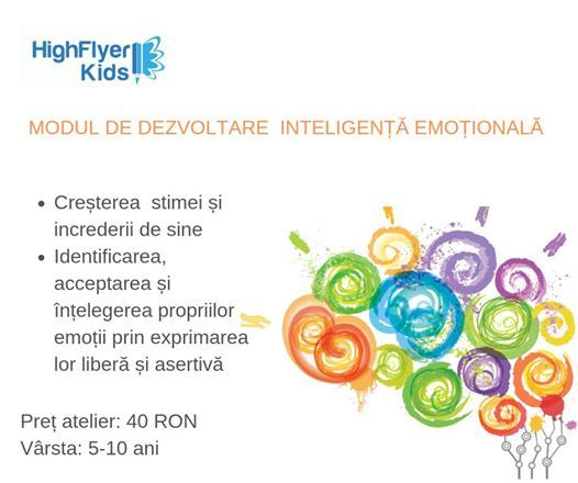 Dezvoltare inteligenta emotionala pentru copii 5 - 10 ani