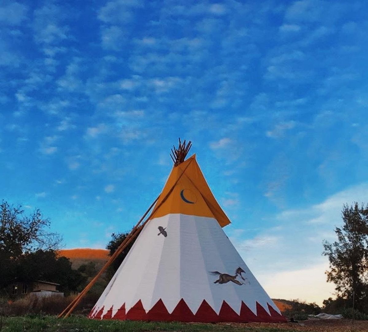 Guided Lucid Dreaming Meditation in a Tipi - Private Ranch in Old