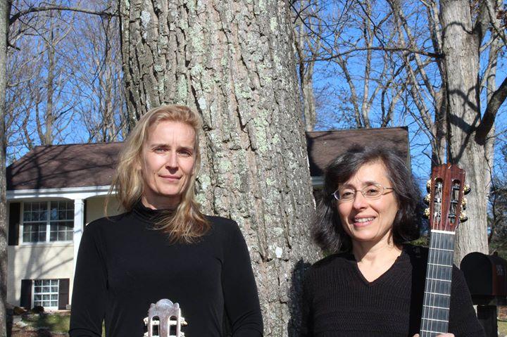 ebru bish renate kehlenbeck guitar duo - India Garden Blacksburg