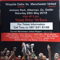 Legends Match Wayside Celtic Legends v Manchester United Legends