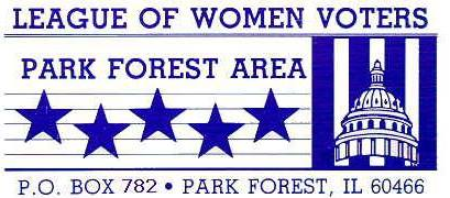 Discussion on the Cook County Criminal Justice System at the League of Women Voters – Park Forest Are on December 17