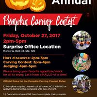 11th Annual Pumpkin Carving Contest