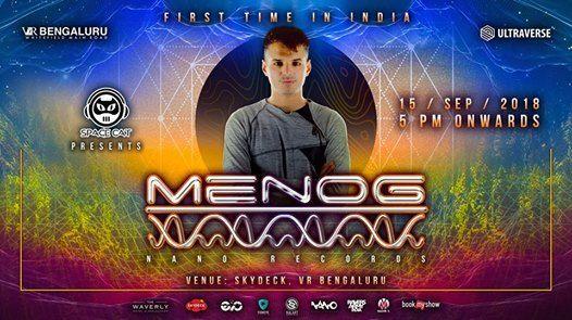 Menog (Nano Records) live - Sep 15- Skydeck VR Bengaluru