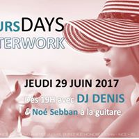 AfterWork &amp Live Music avec DJ Denis et No Sebban