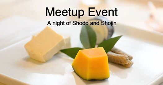 A night of Shodo and Shojin