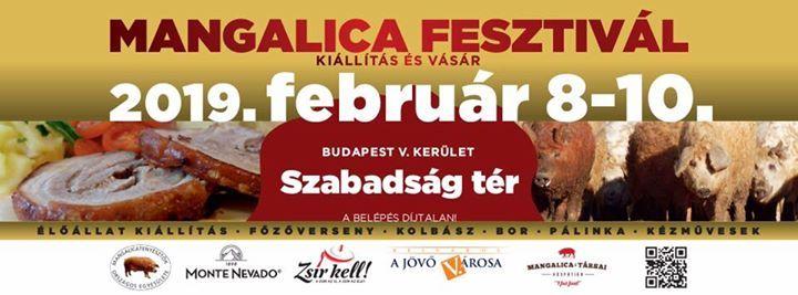 XII. Budapesti Mangalica Fesztivl 2019. Februr 8-10.