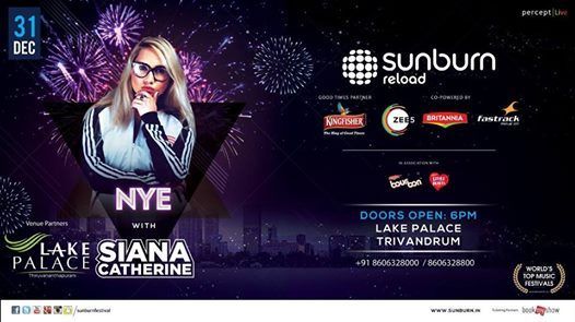 Sunburn Reload NYE with Siana Catherine