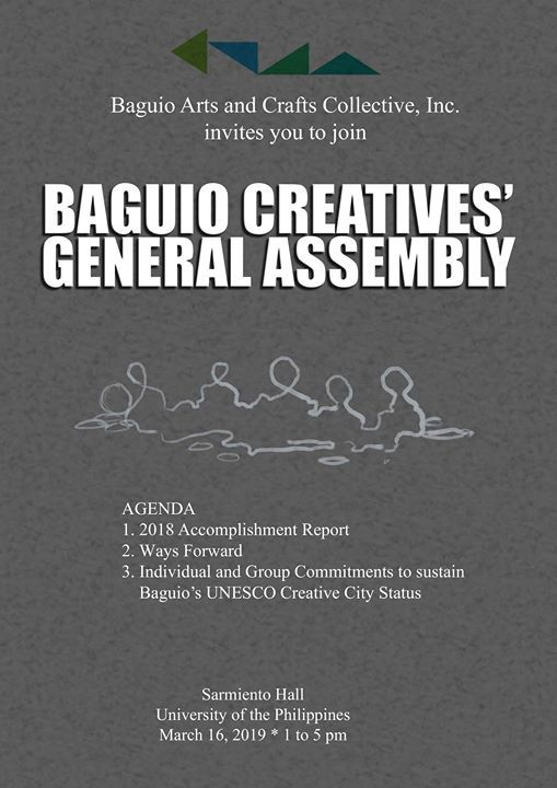 Baguio Creatives General Assembly
