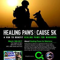 Healing Paws for a Cause 5K