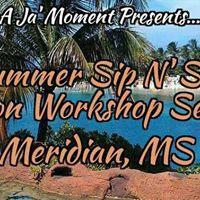 Summer Sip NSee Vision Workshop Series (MeridianJackson MS)