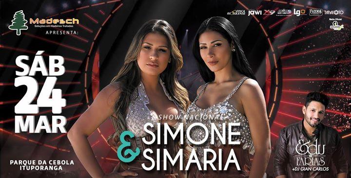 Simone & Simaria em ItuporangaSC