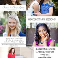 Headshot Mini Sessions For A Cause