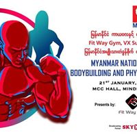 Myanmar National Championship Bodybuilding &amp Physique Sport Competition