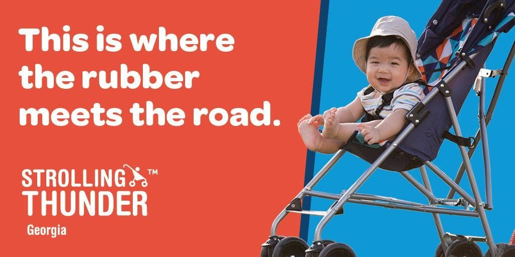 2019 Strolling Thunder A Storm of Advocacy for Infants and Toddlers