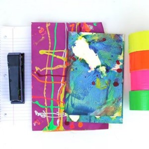 TeenTween Art Camp Book Binding