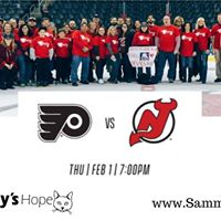 Sammys Hope Night with the New Jersey Devils