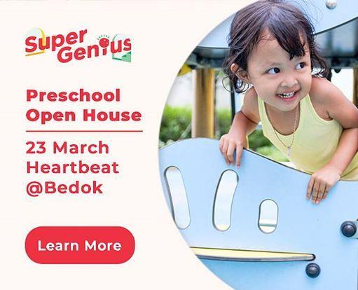 SuperGenius Preschool Open House  23 Mar 2019