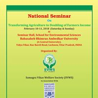 National semi. on transforming ag. to doubling of farmers income