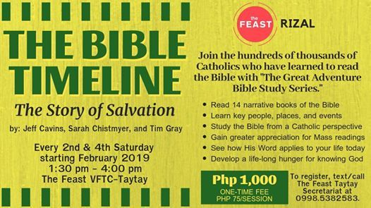 The Bible Timeline The Story of Salvation