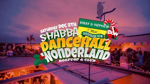 Dancehall Wonderland Xmas Rooftop  Club Party