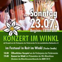 Konzert im Winkl