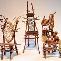 Learn to make a Twig Chair-instructor Ruth Ipsan-Brown