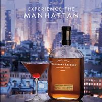 The woodford reserve manhattan experience at marble bar for Marble bar detroit