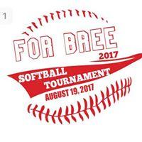 1st annual For Bree Softball Tournament
