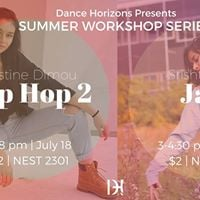 Dance Horizons Summer Workshop Series