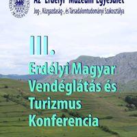 III. Erdlyi Magyar Vendglts s Turizmus Konferencia