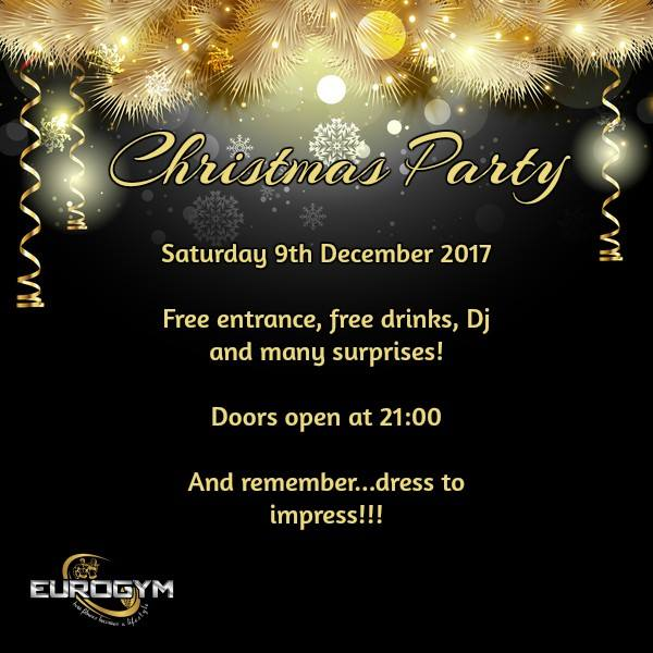 Eurogym Christmas party