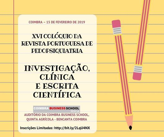 XVI Colquio RPP  Investigao Clnica e Escrita Cientfica