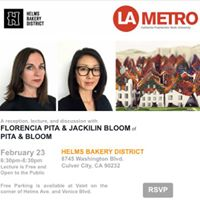 Lecture with Florencia Pita &amp Jackilin Bloom of Pita &amp Bloom